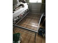 2 x Single bed frame and mattress