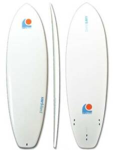 6.4ft Mini Mal Surfbaord - Rounded Square