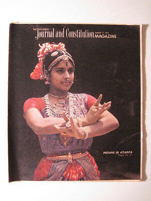 Atlanta Journal And Constitution Magazine 1975  India  Indians In Atlanta