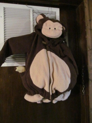 2 piece Monkey Halloween Costume Size 12 to 24 Months