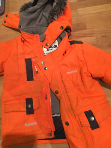 Winter snow jackets for kids