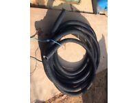 Black Plastic Ducting