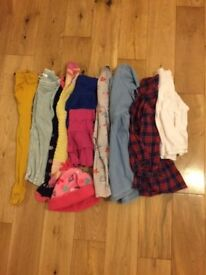 Baby girl bundle of clothes 1-2 years