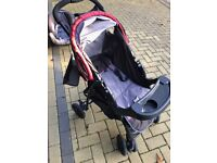 Mothercare Atlan Travel System - Pushchair, Infant carrier/ car seat & accessories