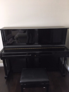 """Excellent condition 48"""" upright Young Chang acoustic piano"""