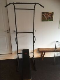 Power Tower Home Gym Station in excellent condition