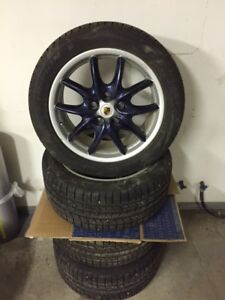 Never used 987 Boxster Winter Tire Set