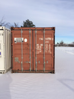 20' USED STORAGE/SHIPPING CONTAINER