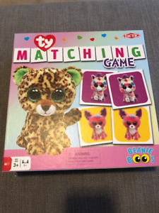 *NEW W/O TAGS* Ty Beanie Boo Matching Game