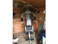 Maximuscle Home Gym In better condition that me ! Price dropped to sell