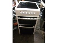£93.89 Beko ceramic electric cooker+50cm+3 months warranty for £93.89