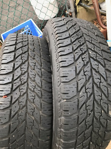 (2) Goodyear Ultrgrip Winters 195 65 15