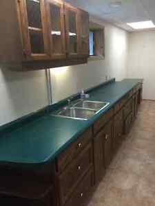 older kitchen - can be used for laundry or garage