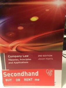 Company Law Theories, Principles and Applications by Jason Harris Haymarket Inner Sydney Preview