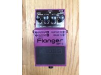 Boss BF - 3 Flanger effects pedal for guitar or bass
