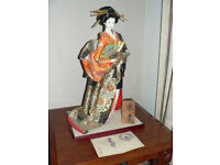 Large Japanese Geisha Doll, 55cm heigh