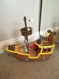 Jake and never land pirate Bucky the boat