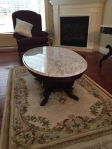 Exceptional Mahogany Coffee Table