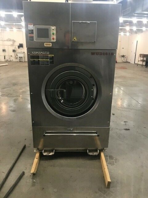 used dry cleaning equipment-50LB Yamamoto Wet Clean Dry to Dry Machine