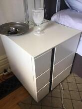 2 x Bedside Cabinets Mosman Mosman Area Preview