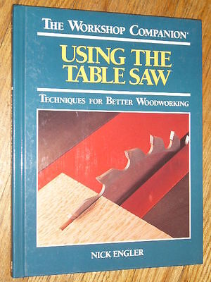 USING THE TABLE SAW : Techniques for Better Woodworking ,