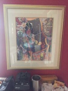 Lynn Hayes prints framed and matted