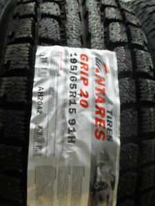 195/65 R15 ANTARES GRIP20 WINTER TIRES *BRAND NEW*