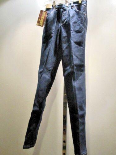 Nos Vintage 1970s WRANGLER LONGHORN Straight Leg Denim Blue Jeans Junior Girl 25