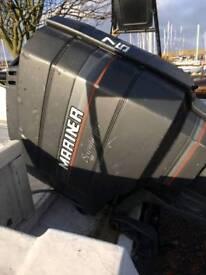 Mariner 75 hp outboard longshaft powertrim tilt