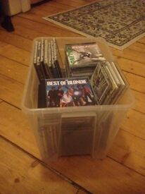 A huge collection of CD's approx 100