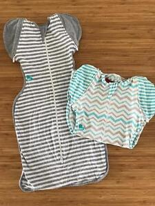 Love to dream, 2 swaddle, size 50/50 New Farm Brisbane North East Preview