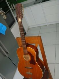 Framus 12 string German made guitar project 1960s barn find classic great wood needs tlc