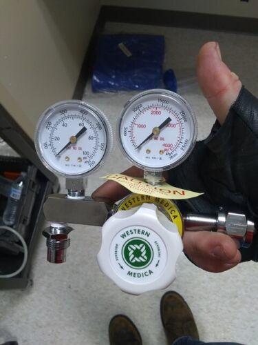 Western Medica M1-346-PG Oxygen Regulator