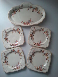5 piece set by Alfred Meakin