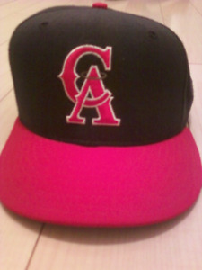 Mint retro California Angels full-sized wool baseball cap