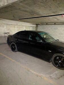 2008 BMW 528i  black on black Sedan