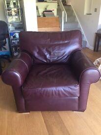 Multiyork Brown Leather Armchair