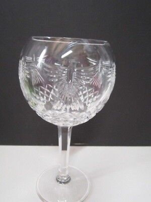 Waterford Crystal  Oversized Balloon Wine Goblet/Glass Crystal Balloon Wine