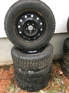 205/65/15 Studded Winter tires