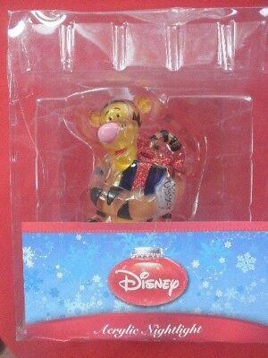 Disney Tigger Acrylic Plug-In Christmas Holiday Nightlight NIB