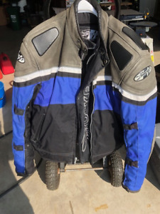 MOTORCYCLE JACKET, MENS XL