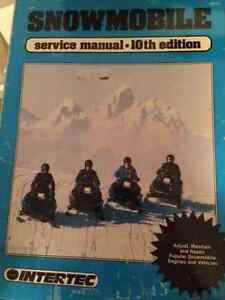 Snowmobile Service Manual Paperback – Jun 1991