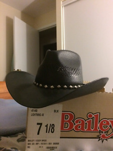 Cowboy Hat. Black Formal dress up style by Bailey