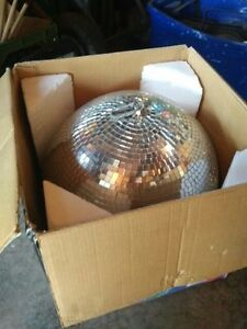 """16"""" Mirror Ball with Motor and 2 pin spots"""