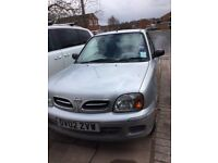 Reliable 3 door silver Nissan Micra