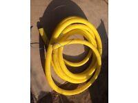 Plastic ducting Yellow