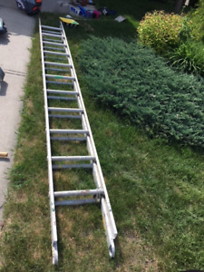 Extension ladder - used