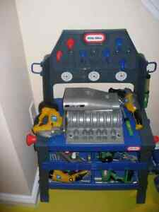 Little Tikes Toddler Tool Play Work Bench