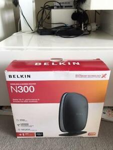 Belkin N300 modem and router Pyrmont Inner Sydney Preview