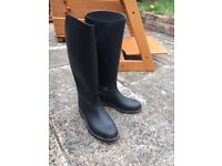 Horse riding boots- girls size 2-3